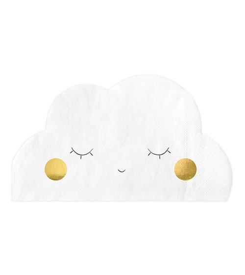 Wolken-Servietten - 20 Stück