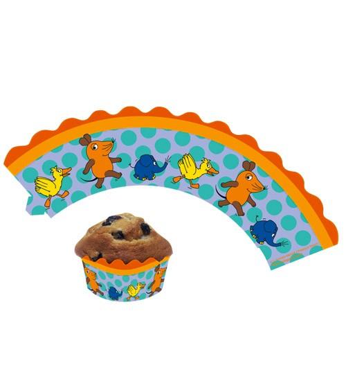 """Cupcake-Wrapper """"Die Maus"""" - 12 Stück"""