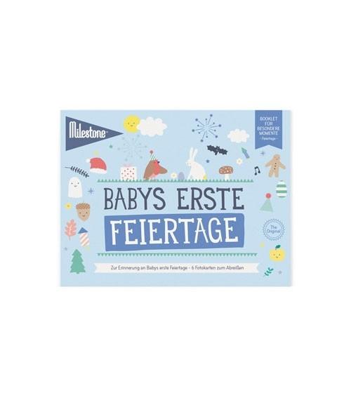 """Milestone Karten-Set """"Babys erste Feiertage"""" - 6-teilig"""