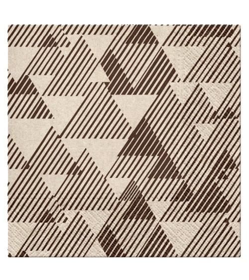 """Servietten """"Triangles"""" - 20 Stück"""