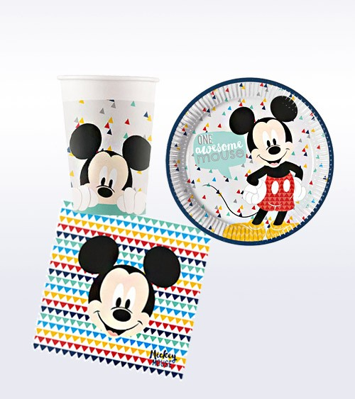 "Deko-Set ""Mickey Maus"" - 36-teilig"