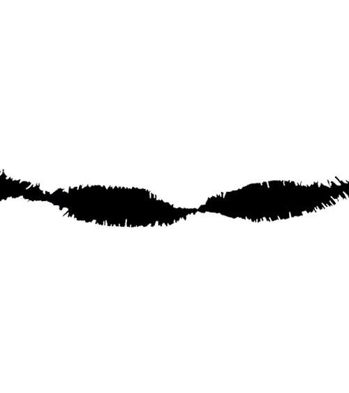 Drehgirlande 6 m - schwarz
