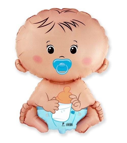 "SuperShape-Folienballon ""Baby Boy"" - 60 cm"