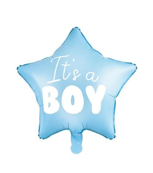 """Stern-Folienballon """"It's a boy"""" - 45 cm"""