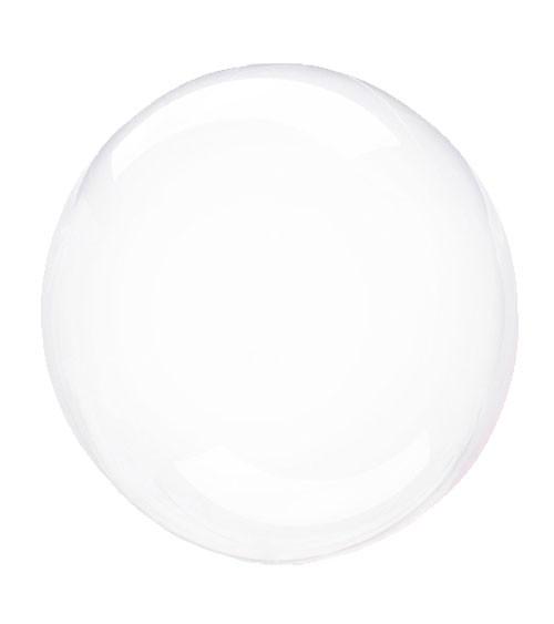 """Kugel-Folienballon """"Clearz Crystal"""" - klar - 45-56 cm"""