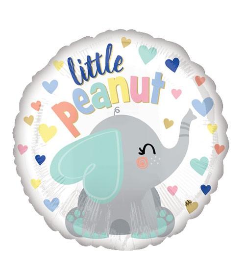 """Runder Folienballon """"Little Peanut"""" - 43 cm"""