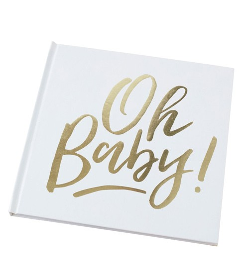"Babyparty-Gästebuch ""Oh Baby"""