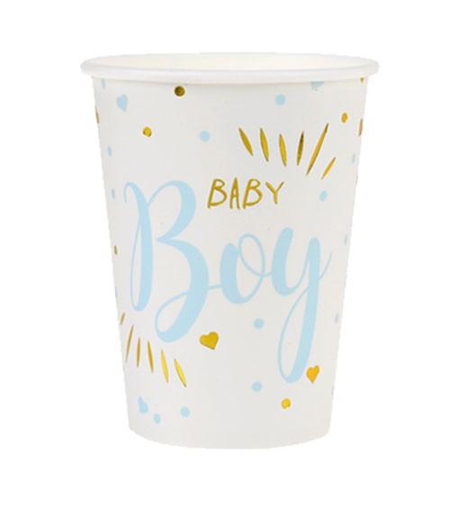 """Pappbecher """"Baby Boy"""" - 10 Stück"""