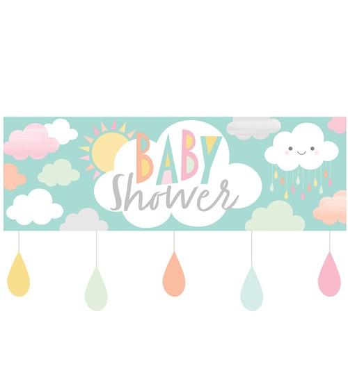 """Baby Shower-Partybanner """"Kleine Wolke"""" - 152 cm"""