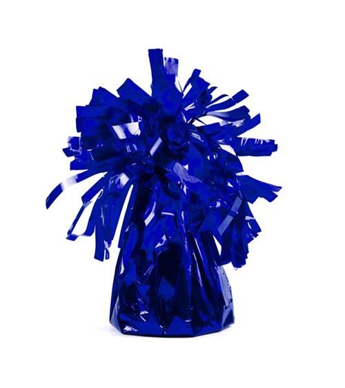 Ballon-Gewichte - dunkelblau metallic - 4 Stück