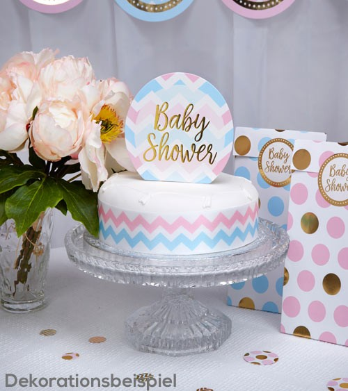 "Cake-Topper ""Baby Shower"""