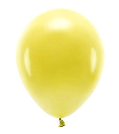 Standard-Ballons - dunkelgelb - 30 cm - 10 Stück