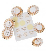 """Babyparty-Orden-Set """"Oh Baby"""" - 30-teilig"""
