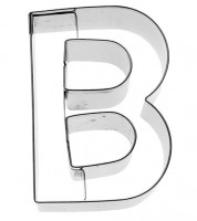 Ausstechform Buchstabe B - 6 cm
