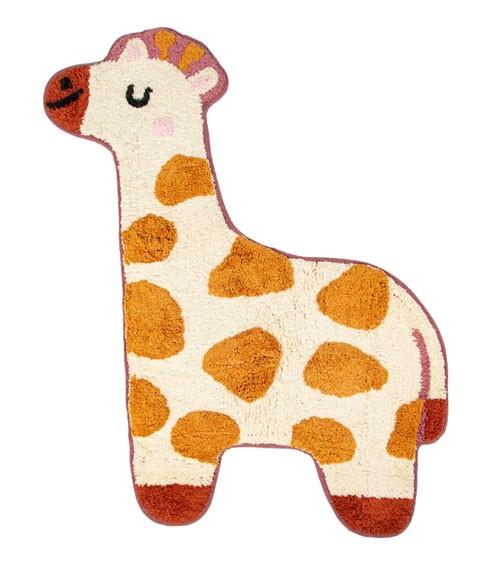 """Kleiner Teppich aus Baumwolle """"Giraffe"""" - 57 x 80 cm"""