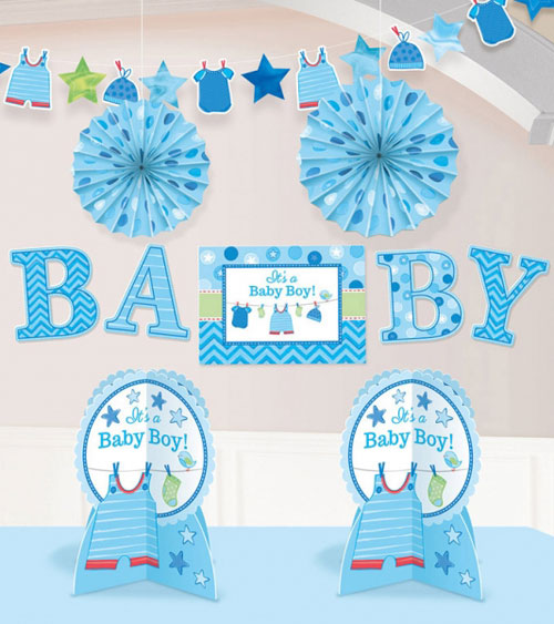 shower with love boy deko serien babyparty baby belly party. Black Bedroom Furniture Sets. Home Design Ideas