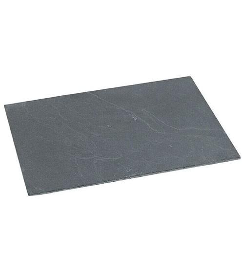 Schieferplatte - 30 x 20 cm