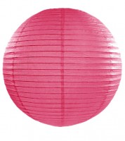 Papierlampion - hot pink - 45 cm