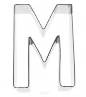 Ausstechform Buchstabe M - 6 cm