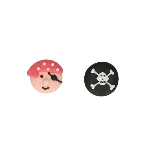 "Funcakes Zuckerdekore ""Piraten"" - 8 Stück"