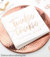 """Servietten """"Twinkle Twinkle"""" - 16 Stück"""