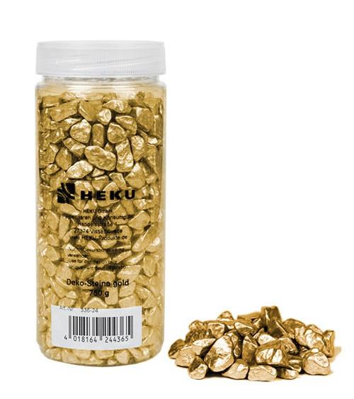 Deko-Steine - 750 g - gold