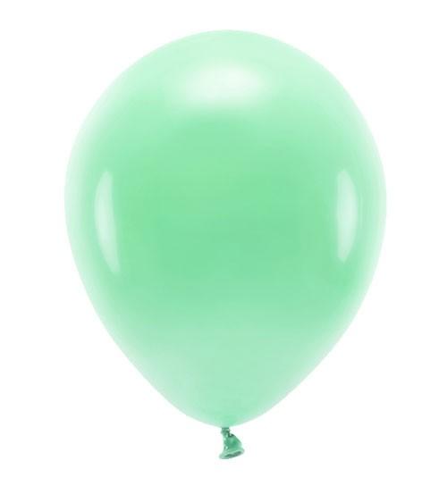 Standard-Ballons - mint - 30 cm - 10 Stück