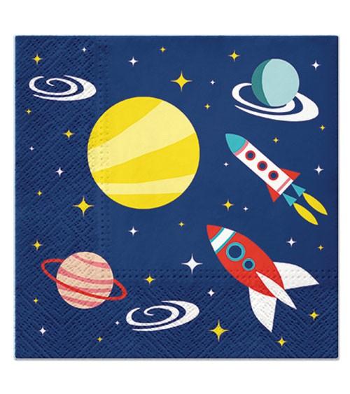"Servietten ""Space"" - 20 Stück"