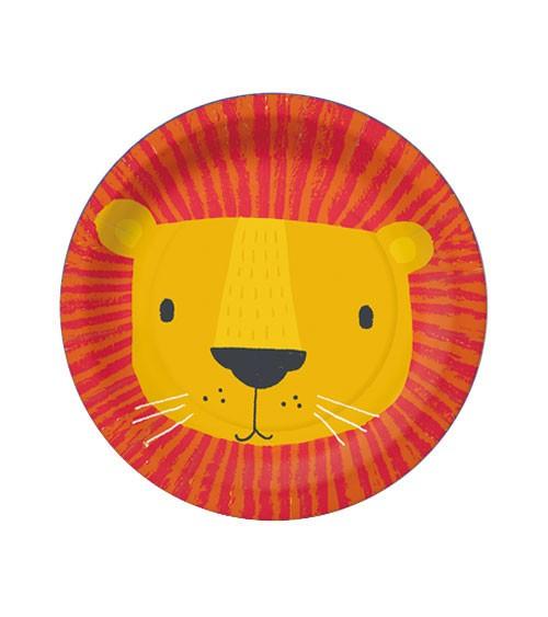 """Kleine Pappteller """"Lion Mask"""" - 10 Stück"""