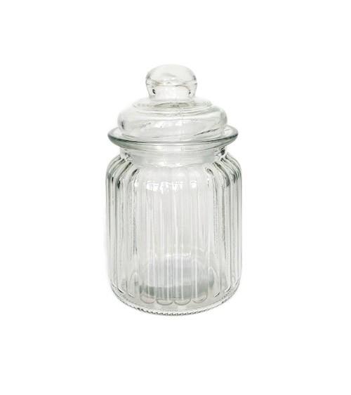 Kleines Bonbon-Glas mit Deckel - 300 ml