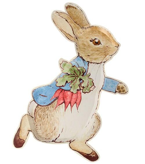 """Shape-Pappteller """"Peter Rabbit"""" - 12 Stück"""