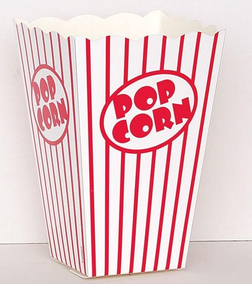 Popcorn-Boxen - 10 Stück