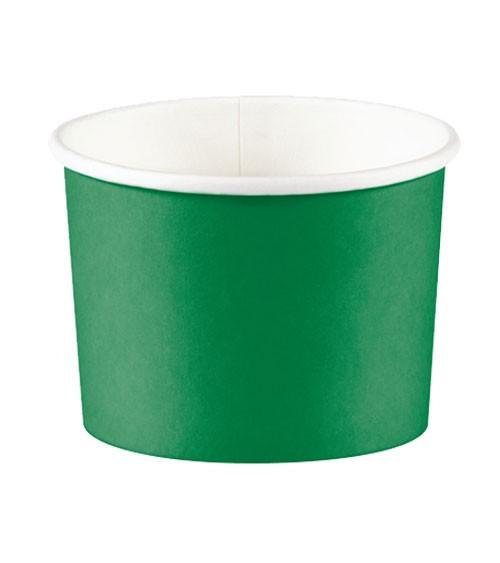 Eisbecher - emerald green - 6 Stück