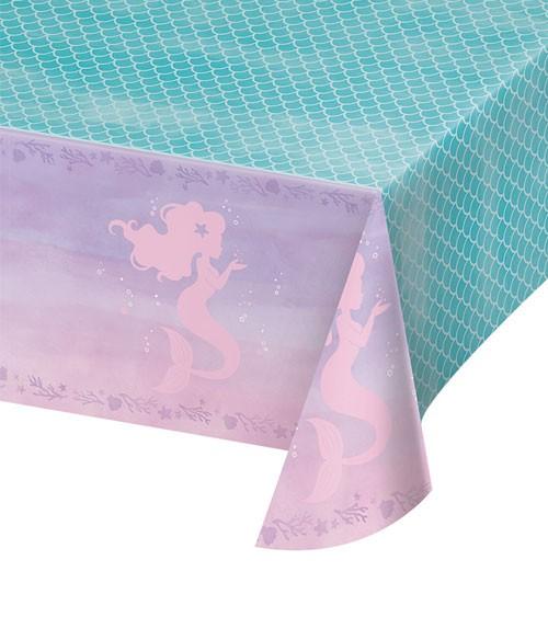 """Kunststoff-Tischdecke """"Mermaid Shine"""" - 137 x 259 cm"""