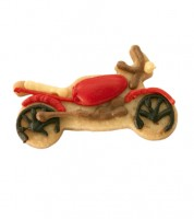 Ausstechform Motorrad - 6,5 cm
