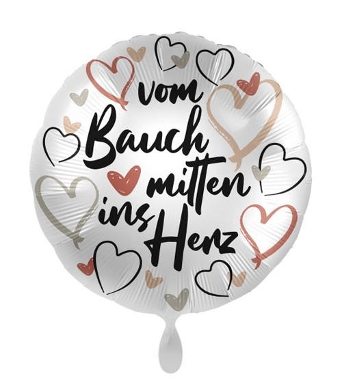 """Folienballon """"Mitten ins Herz"""""""