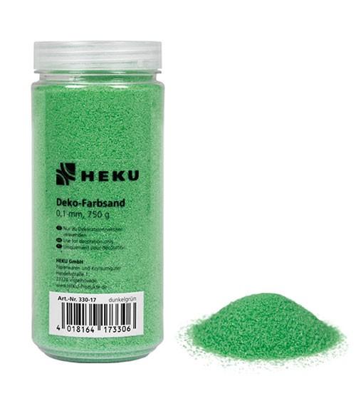 Deko-Farbsand - 750 g - grün
