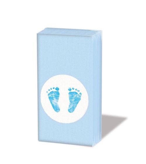 "Papiertaschentücher ""Baby Steps Boy"" - 10 Stück"