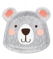 """Shape-Pappteller """"Kleiner Bär"""" - 8 Stück"""