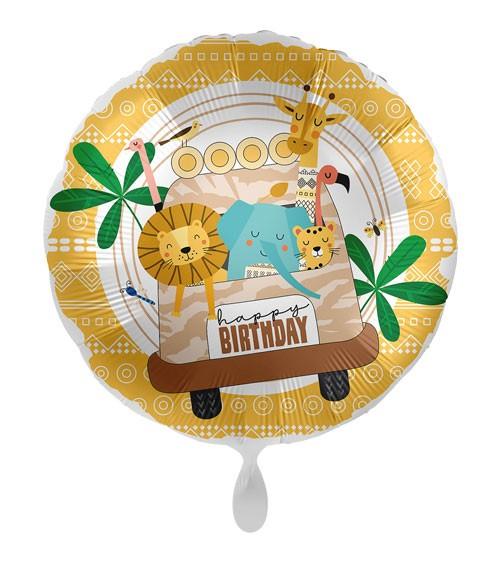 "Folienballon ""Safari Birthday"""