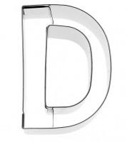 Ausstechform Buchstabe D - 6 cm