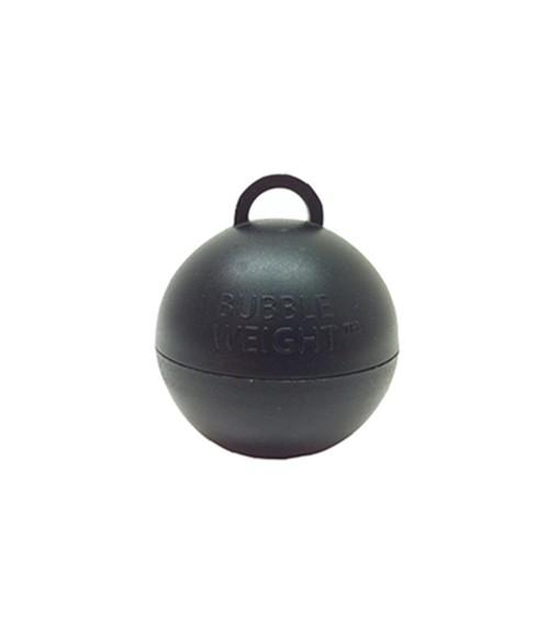 "Ballon-Gewichte ""Bubble"" - schwarz - 25 Stück"