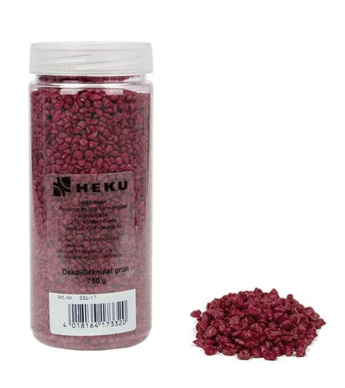 Deko-Granulat - 750 g - bordeaux