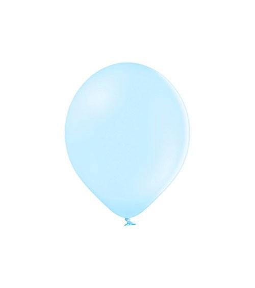 Mini-Luftballons - pastell hellblau - 12 cm - 100 Stück