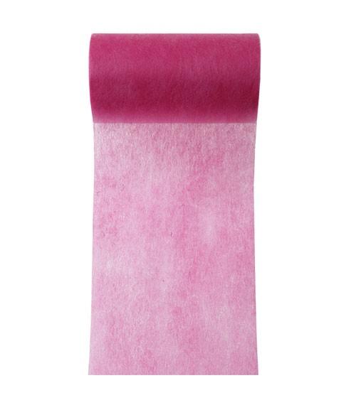 Tischband aus Vlies - pink - 10 cm x 10 m