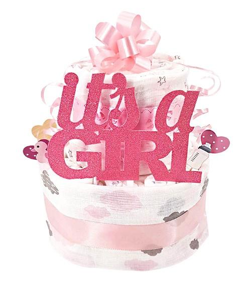 """Windeltorte """"It's a Girl"""""""
