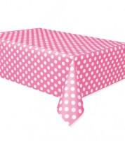 """Plastiktischdecke """"Big Dots"""" - pink"""