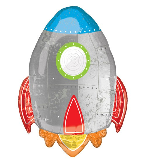 "Supershape-Folienballon ""Rakete"" - 53 x 73 cm"