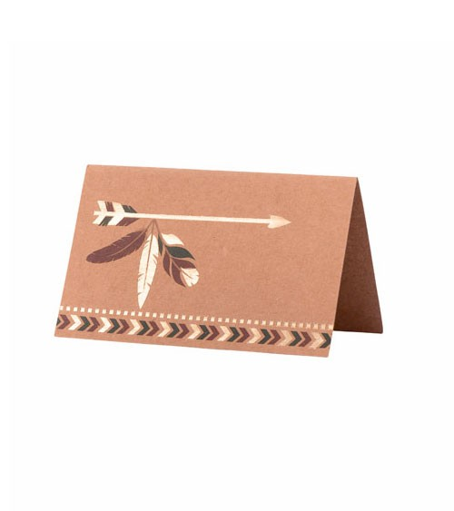 """Platzkarten """"Indian Forest"""" - 8 Stück"""