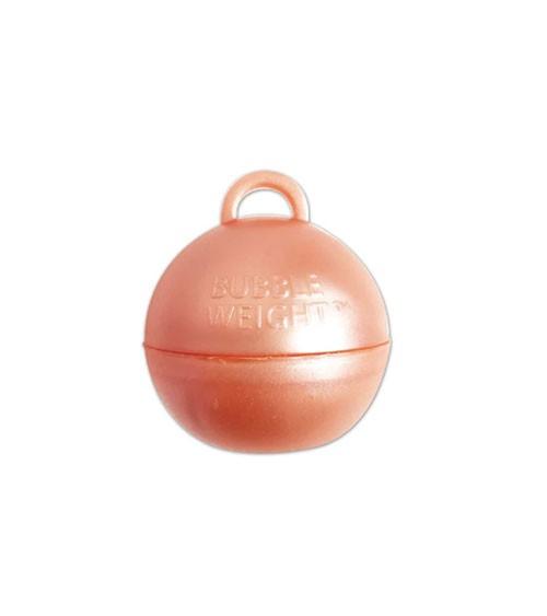 """Ballon-Gewichte """"Bubble"""" - rosegold - 25 Stück"""